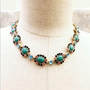 J CREW 🌸 spring fling stunning statement necklace